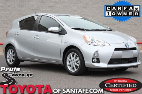 Certified Pre-Owned 2014 Toyota Prius C Four